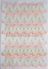 Заготовка для аппликаций на ткани (лепестки розы) ОАР-70-13,А4