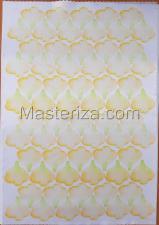 Заготовка для аппликаций на ткани (лепестки розы) ОАР-70-14,А3