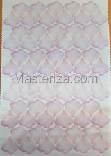 Заготовка для аппликаций на ткани (лепестки розы) ОАР-70-18,А3