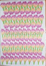 Заготовка для аппликаций на ткани (лепестки пиона) ОАР-80-1