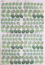 Заготовка для аппликаций на ткани (листья) ОАР-73-1,А3