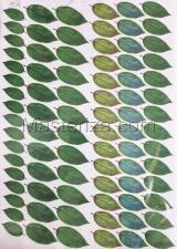 Заготовка для аппликаций на ткани (листья) ОАР-100,А3
