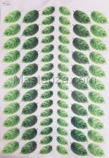 Заготовка для аппликаций на ткани (листья) ОАР-102-1,А3