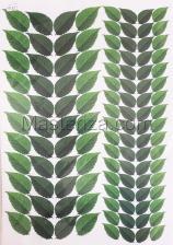 Заготовка для аппликаций на ткани (листья) ОАР-105-1,А3