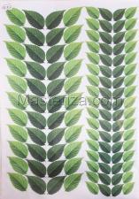 Заготовка для аппликаций на ткани (листья) ОАР-105-2,А3