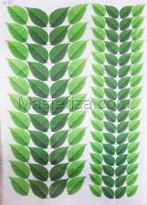 Заготовка для аппликаций на ткани (листья) ОАР-105-3,А3