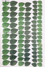 Заготовка для аппликаций на ткани (листья подсолнуха) ОАР-106,А3