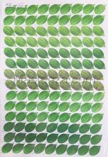 Заготовка для аппликаций на ткани (листья розы) ОАР-109,А3
