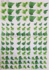 Заготовка для аппликаций на ткани (листья плюща) ОАР-113,А3