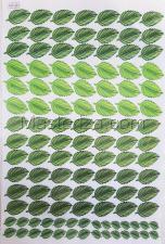 Заготовка для аппликаций на ткани (листья) ОАР-116-1,А3