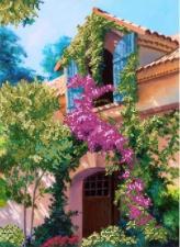 Картины бисером | Схема Испанский колорит. Размер - 27 х 37 см