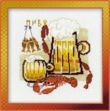Риолис | Пиво. Размер - 25 х 25 см