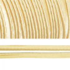 Кант атласный шир.11мм цв.(F104) 008 светло-бежевый