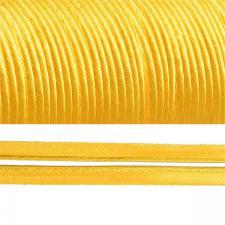 Кант атласный шир.11мм цв.(F112) 037 жёлтый