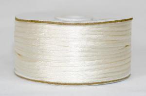 Шнур атласный круглый 2-3мм цв. 3002 молочный