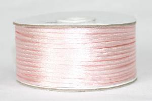 Шнур атласный круглый 2-3мм цв. 3052 светло-розовый