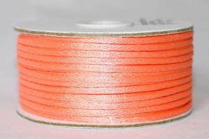 Шнур атласный круглый 2-3мм цв. 3068 персиковый