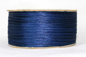 Шнур атласный круглый 2-3мм цв. 3164 синий
