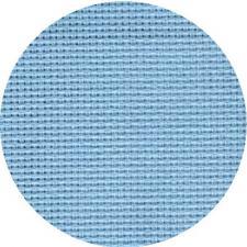 Канва мелкая арт.851 (10х60кл) 40х50см цв.голубой 177