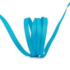Лента IDEAL репсовая в рубчик шир.6мм цв. 340(165) ярко-голубой