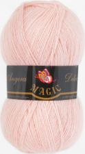 Пряжа Magic Angora delicate (15% мохер,10% шерсть,75% акрил,100гр/500м),1122 чайная роза