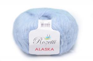 Пряжа Rozetti Alaska (44% акрил, 26% полиамид, 15% альпака, 15% суперстирка шерсть мериноса,50г/225м),231-16 светло-голубой