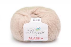 Пряжа Rozetti Alaska (44% акрил, 26% полиамид, 15% альпака, 15% суперстирка шерсть мериноса,50г/225м),231-20 светло-бежевый