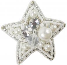 """Набор для изготовления броши Crystal Art """"Звезда"""". Размер - 6 х 6 см."""