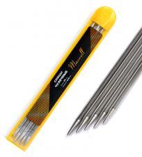 Спицы для вязания чулочные Maxwell Gold, металл арт.25-60 Ø6,0 мм /25 см