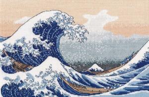 Овен   Большая волна в Канагаве. Размер - 30 х 20 см
