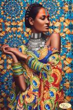 Тэла Артис | Африка 3. Размер - 24 х 36 см