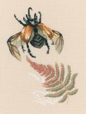 РТО | М758 Полёт жука. Размер - 15,5 х 21 см