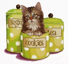 Thea Gouverneur | Cookie time/Время печенья. Размер - 31 х 30 см
