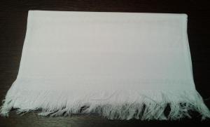 Чаривна мить | Рушник со вставками канвы 0,32 х 0,90 м,белый