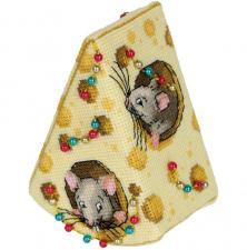 Панна | Сыр для мышек. Размер - 7 х 5,5 х 10 см