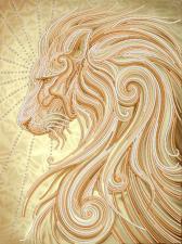 Маричка | Золотой лев. Размер - 26 х 35 см