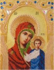 А-строчка | Казанская икона Божией Матери. Размер - 19 х 25 см