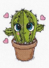 Овен | Маленький кактус. Размер - 8 х 10 см