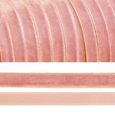 Лента бархатная арт.TBY.LB0676 нейлон шир.06 мм цв.грязно-розовый