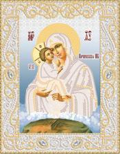 Маричка | Почаевская икона Божией Матери (серебро). Размер - 18 х 23 см