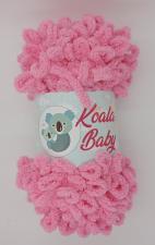 Пряжа Koala baby (100% полиэстер, 180 гр/16,7 м),113 розовый