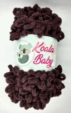 Пряжа Koala baby (100% полиэстер, 180 гр/16,7 м),118 шоколадный