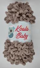 Пряжа Koala baby (100% полиэстер, 180 гр/16,7 м),119 коричневый