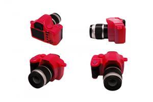 Фотоаппарат со вспышкой арт.КЛ.28366 45х25х50мм, цв.красный
