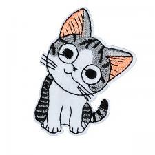 Термоаппликация арт.TBY.ND.11 Котёнок 3,5х6см