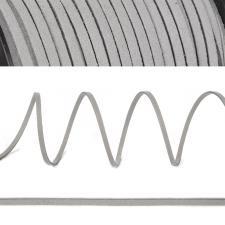 Шнур/тесьма (искусственная замша) TBY.SLR310 2-3мм цв.светло-серый F310
