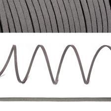 Шнур/тесьма (искусственная замша) TBY.SLR311 2-3мм цв.тёмно-серый F311
