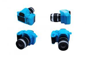 Фотоаппарат со вспышкой арт.КЛ.28365 45х25х50мм, цв.синий