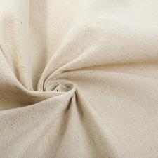 Ткань лён, 140г/м², 30% лён + 70% хлопок, шир.150см, цв.натуральный,уп.3 м