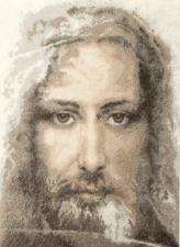 Чаривна Мить   Священная реликвия христиан Туринская плащаница правдивый образ Господа Нашего Иисуса Христа. Размер - 30 х 41 см